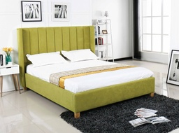 [04001746] CAMA QUEEN 1.53X2.03M ML1804# TELA UF860-10B# VERDE 3CJ